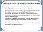 workforce professionals view of pre and post assessment evaluation results1