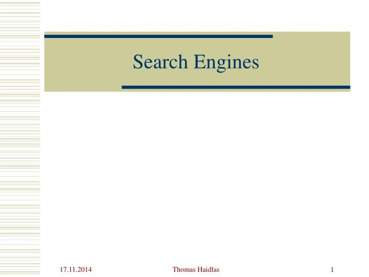 search engines n.