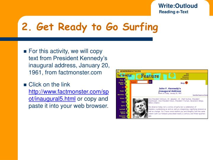 2. Get Ready to Go Surfing