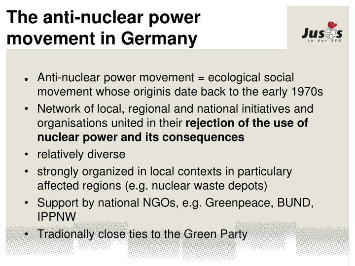 The anti-nuclear