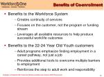 benefits of co enrollment