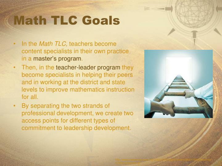 Math TLC Goals