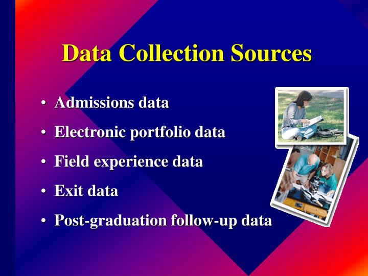 Data Collection Sources