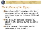 the collapse of the tigers