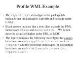 profile wml example2