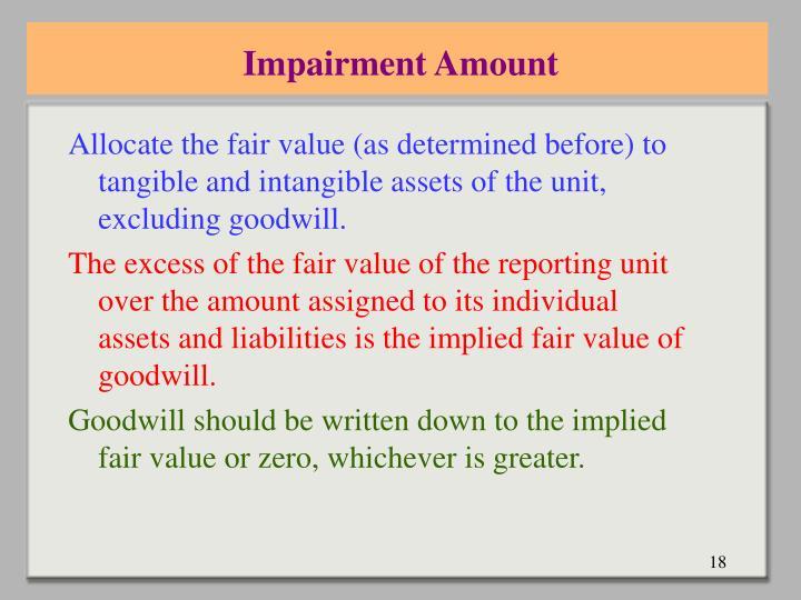 Impairment Amount