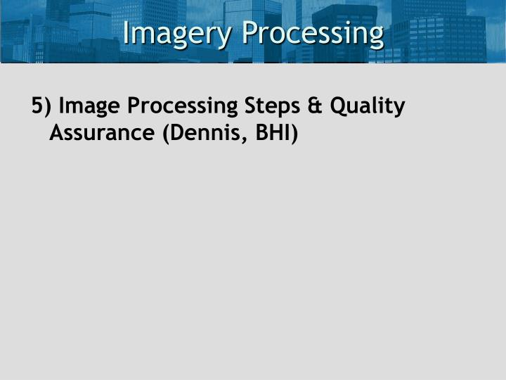 Imagery Processing