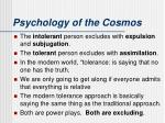psychology of the cosmos2