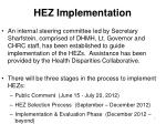 hez implementation