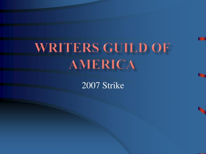 writers guild of america n.