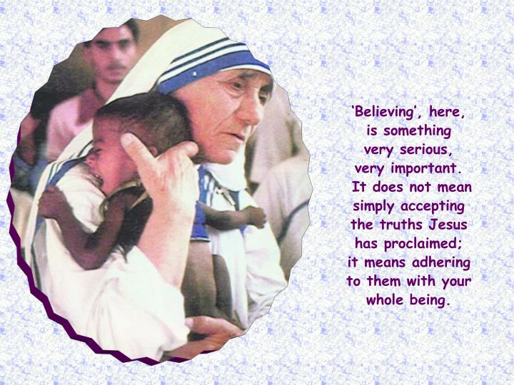 'Believing', here,