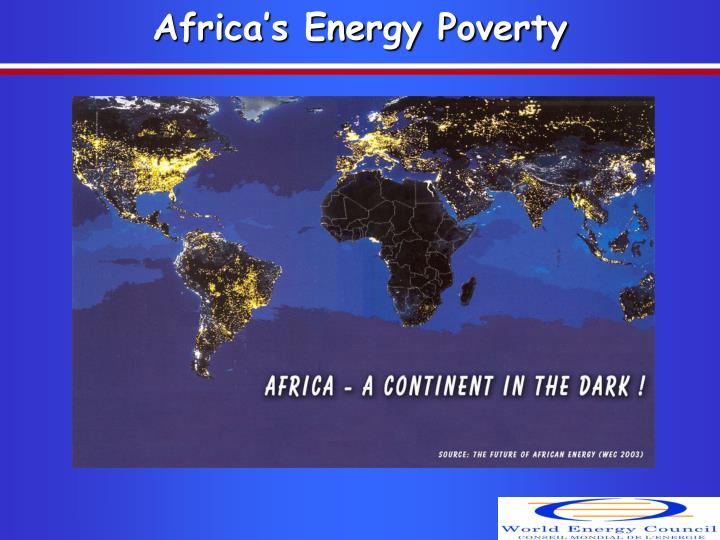 Africa s energy poverty