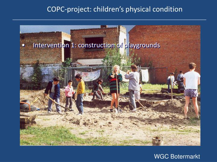 COPC-project: children's physical condition