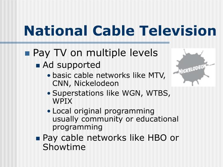 National Cable Television
