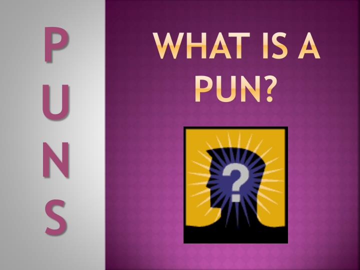 what is a pun