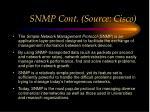 snmp cont source cisco