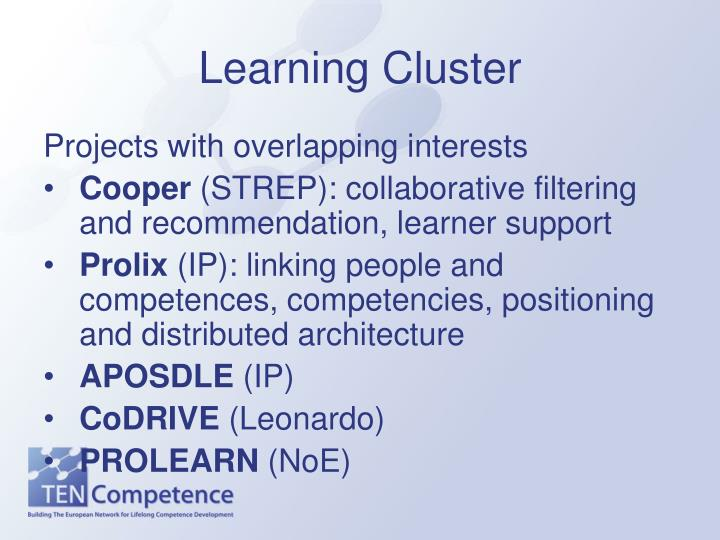 Learning Cluster