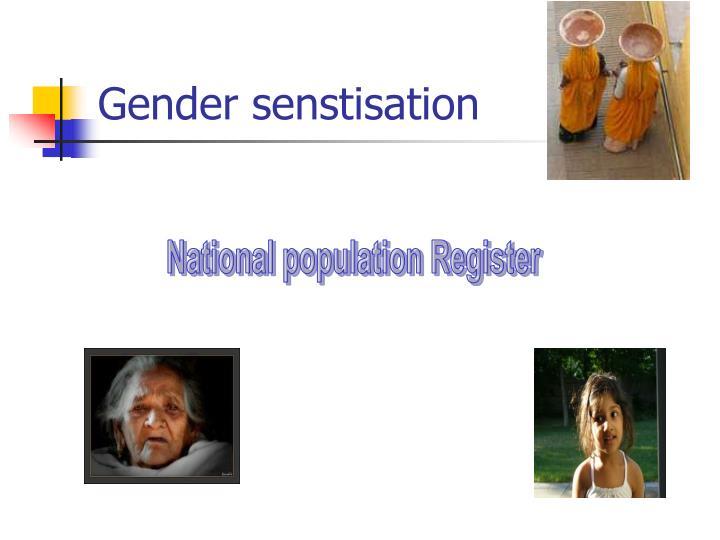 Gender senstisation