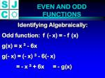 even and odd functions2