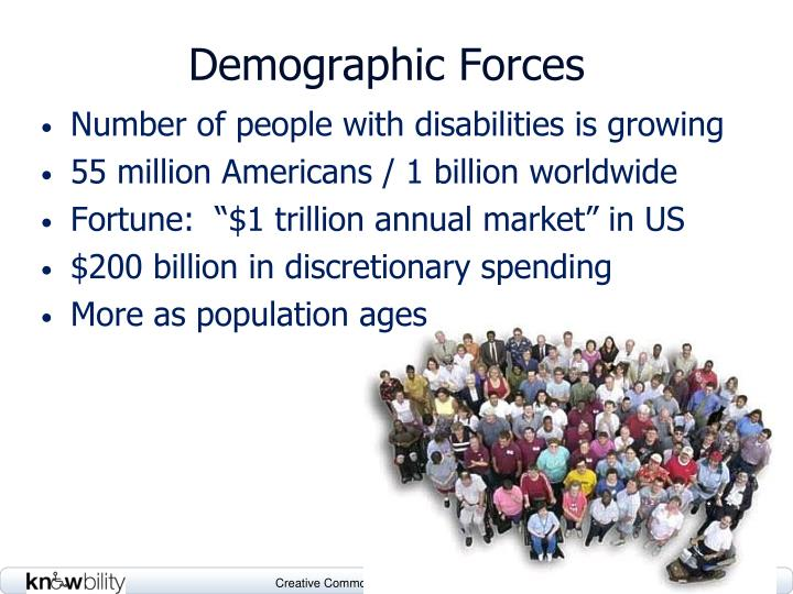 Demographic Forces