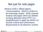 not just for web pages