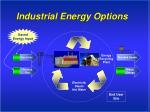 industrial energy options