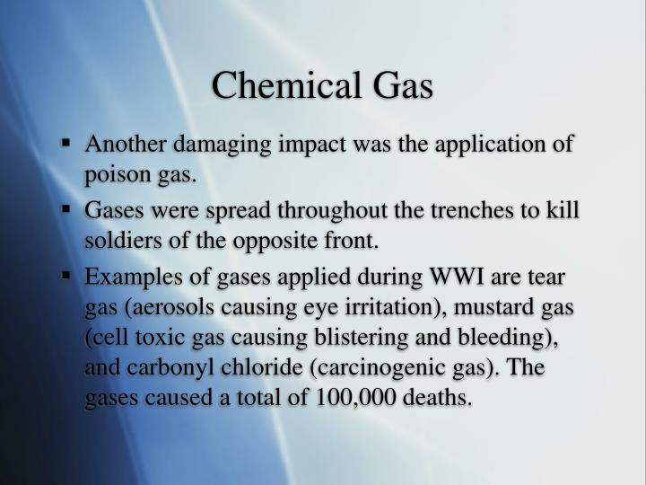 Chemical Gas