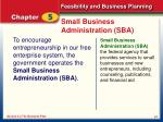 small business administration sba