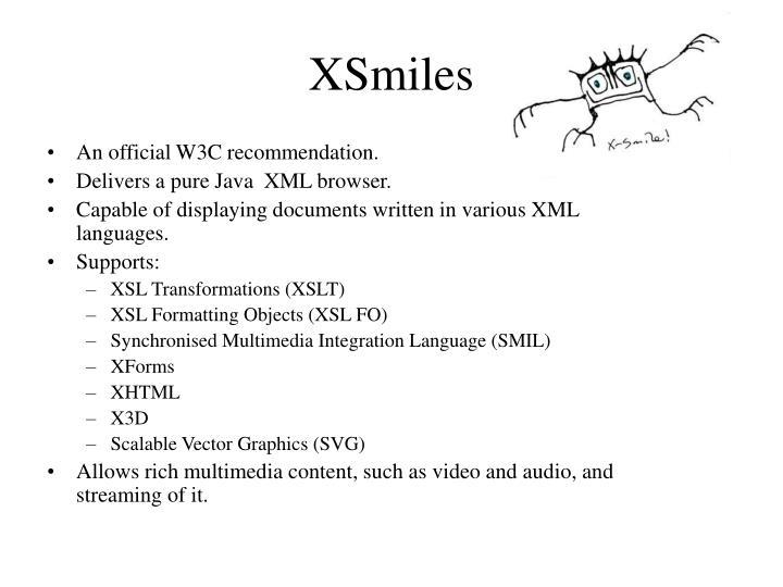 XSmiles