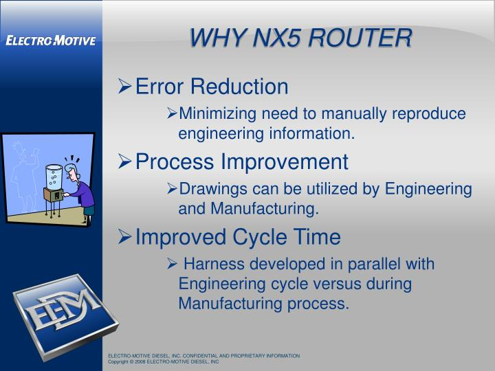 WHY NX5 ROUTER