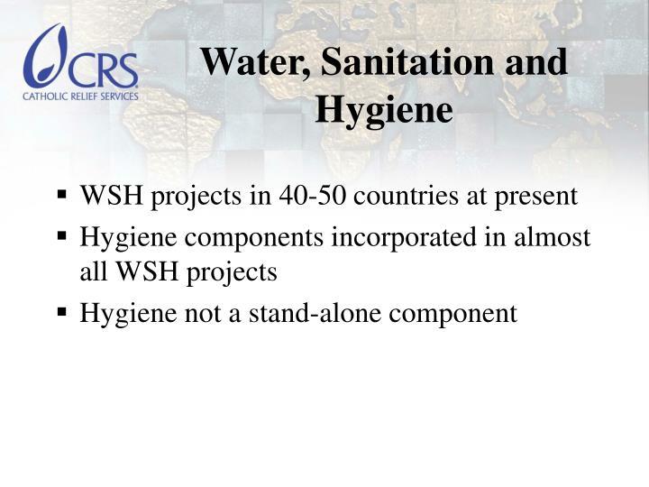 Water sanitation and hygiene
