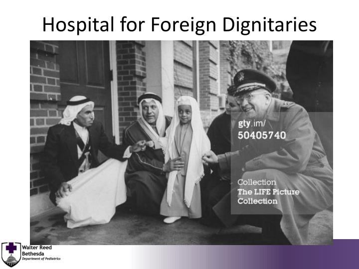 Hospital for Foreign Dignitaries