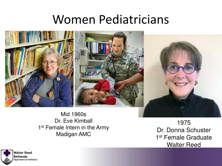 Women Pediatricians