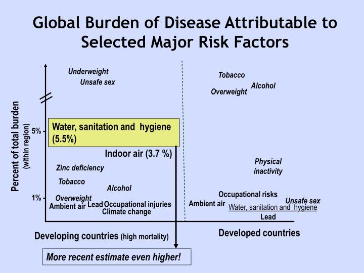 Global Burden of Disease Attributable to Selected Major Risk Factors