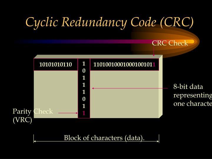 Cyclic Redundancy Code (CRC)