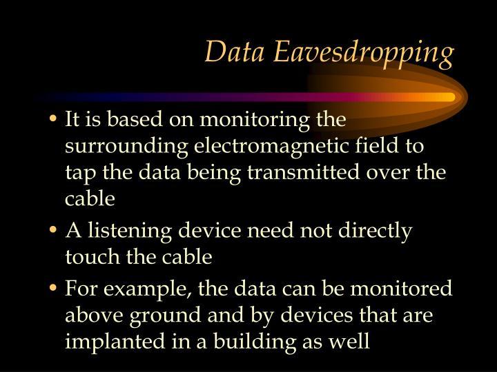 Data Eavesdropping