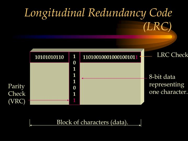 Longitudinal Redundancy Code (LRC)