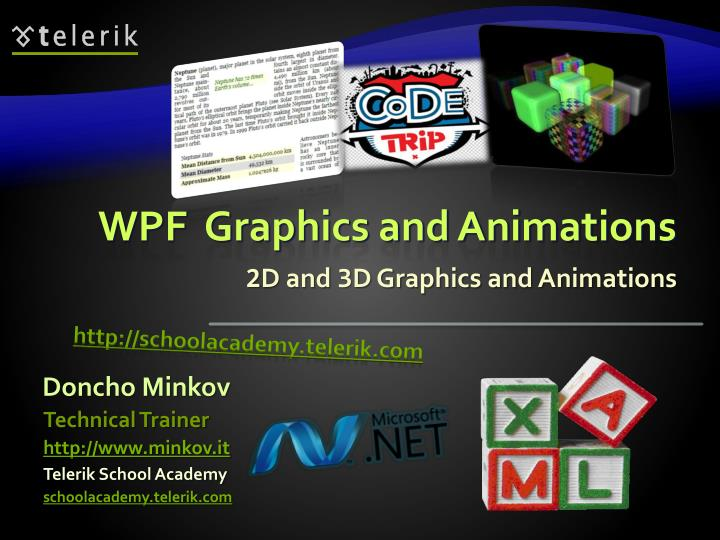 2 d and 3 d graphics and animations n.