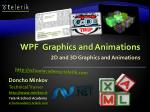 2 d and 3 d graphics and animations