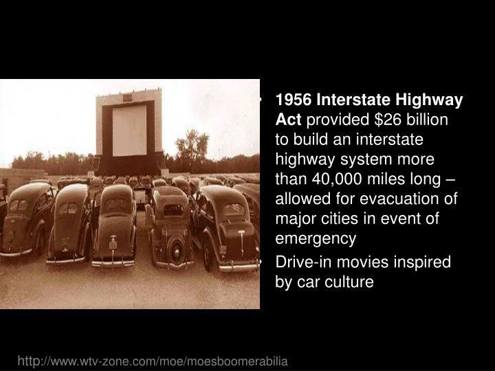 1956 Interstate Highway Act