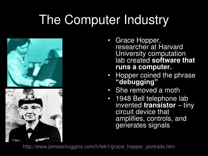 The Computer Industry