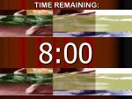 time remaining7