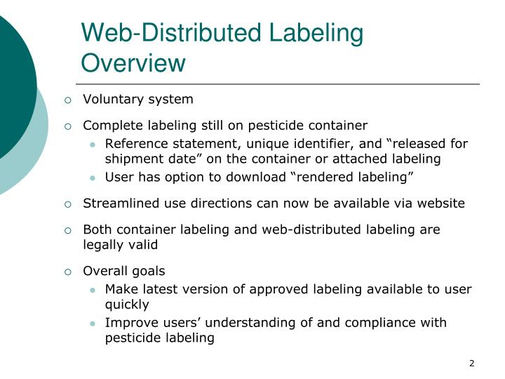 Web distributed labeling overview
