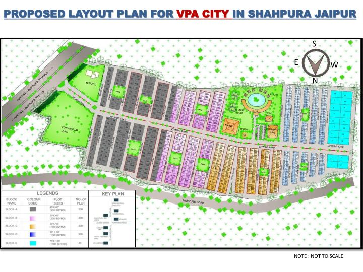 PROPOSED LAYOUT PLAN FOR