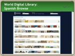 world digital library spanish browse