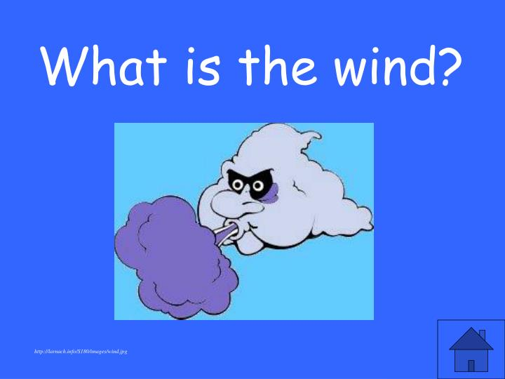 What is the wind?