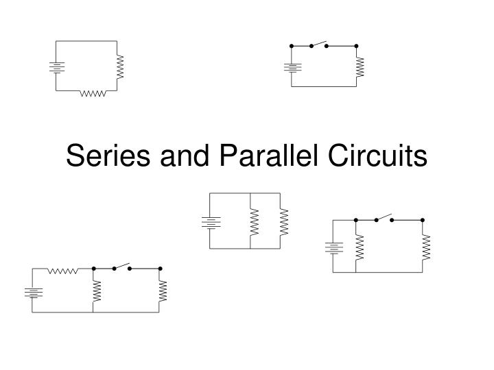 series and parallel circuits n.