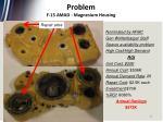 problem f 15 amad magnesium housing