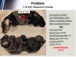 problem f 16 adg magnesium housing