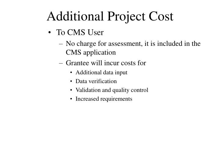 To CMS User